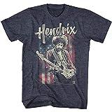 Photo de Jimi Hendrix - - Tee Shirt Homme Drapeau Hendrix par Jimi Hendrix