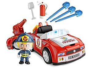Pinypon Action - Bombero Vehículos de Acción (Famosa 700014610)