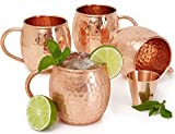 Best Moscow Mule Mugs - Set of 4 Moscow Mule Copper Mugs Review