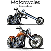 Motorcycle Coloring Book: 1