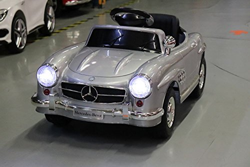 Lizenz Kinderauto Mercedes - Benz 300SL Roadster 6V 25W Motor RC MP3 Elektroauto Kinderfahrzeug Ferngesteuert Elektro