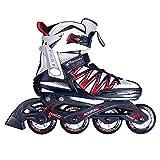 SPOKEY HALO II Inline Skates  Kinder  Damen  Herren  Inline Blades  ABEC5 Karbon  Aluminiumschiene  Größen 37-46, Farben:BlackGröße/Size:40