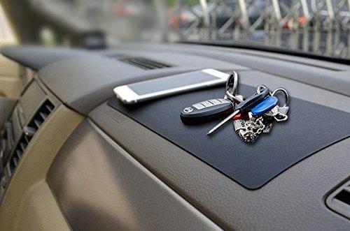XFAY HX276 multifuncional coche salpicadero antideslizante Pad Antideslizante Mat Dashboard Coche Cojín Pegajoso Holder para el teléfono y gps, gafas de sol, boligrafos, llaves, monedas, etc-[modelo de la piel]