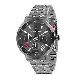 Reloj para Hombre, Colección GT, Movimiento de Cuarzo, cronógrafo, en Acero y PVD Gris – R8873134001