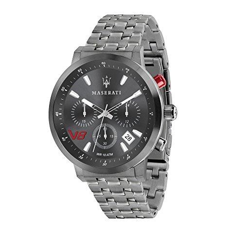 MASERATI Reloj Cronógrafo para Hombre de Cuarzo con Correa en Acero Inoxidable R8873134001