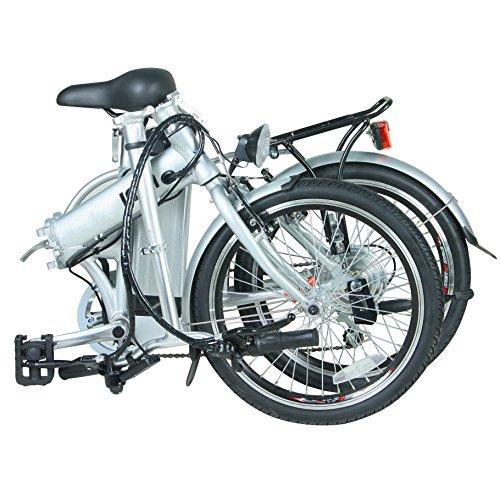 Fenetic Stowaway compact folding Electric Bike E-bike with throttle