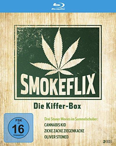 Smokeflix - Die Kiffer-Box (3 Filme, 3 Blu-rays)