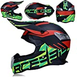 LWKXY Motocross-Helm, Fahrradhelm, Männlicher Rennhelm