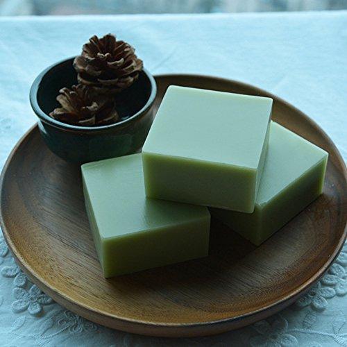 Kontrolle Aufhellung (Zantec Handgemachte Seife Grüner Tee ätherische Öle Seife Öl Kontrolle, Whitening, feuchtigkeitsspendend 100g)