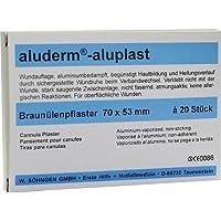 ALUDERM aluplast Braunülenpflaster 20 St Pflaster preisvergleich bei billige-tabletten.eu