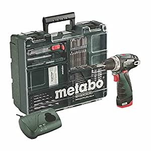 metabo mobile werkstatt powermaxx bs basic set akku bohrschrauber bohr maschine mit li ion. Black Bedroom Furniture Sets. Home Design Ideas