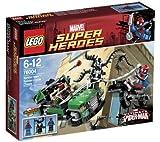 LEGO Superhéroes Marvel - Spiderman - La persecución en moto-araña - 76004