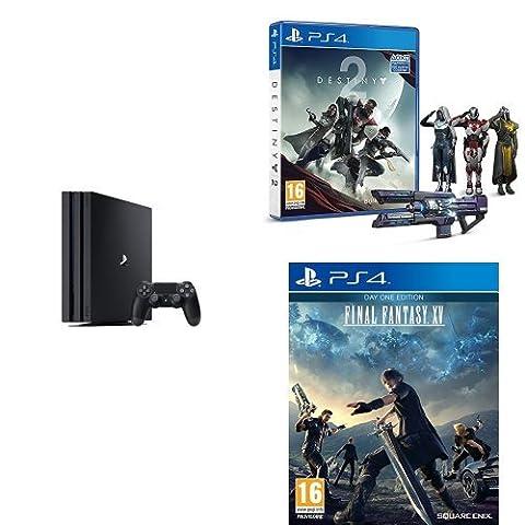 Pack PS4 Pro + Destiny 2 + Final Fantasy XV