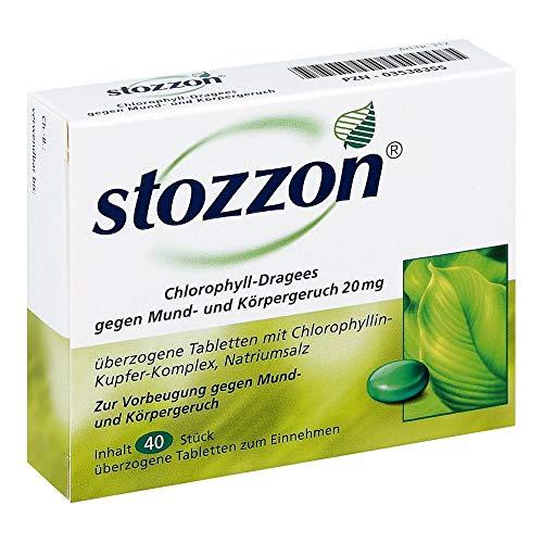 Stozzon Chlorophyll-Drage 40 stk