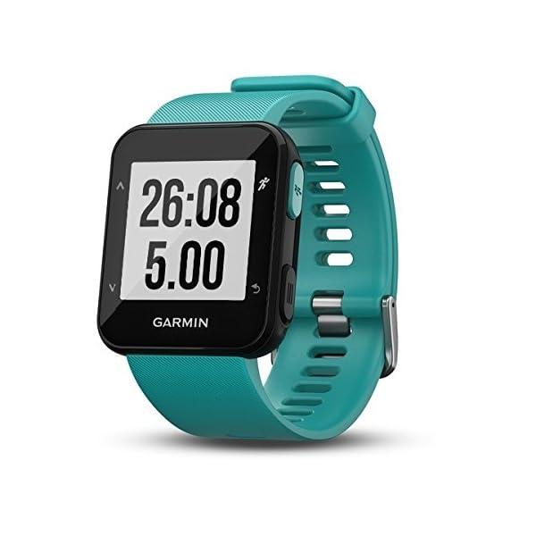 Garmin Forerunner 30 – Reloj de carrera con GPS y sensor de frecuencia