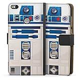 Huawei P8 Lite 2017 Tasche Leder Flip Case Hülle Star Wars Merchandise Fanartikel R2d2