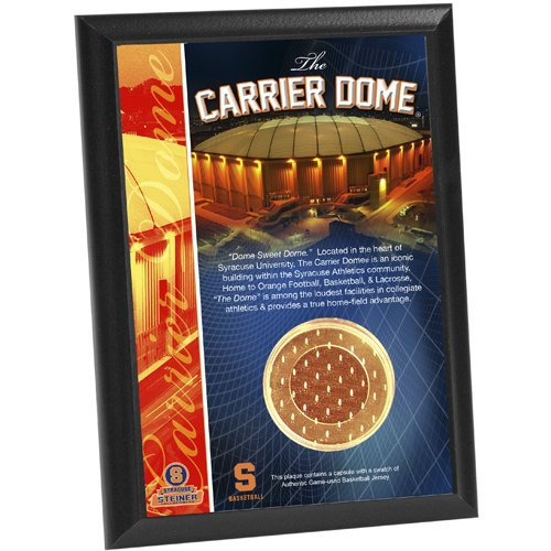 Syracuse Carrier Dome Basketball Jersey Kapsel 4 x 6 Plaque ()