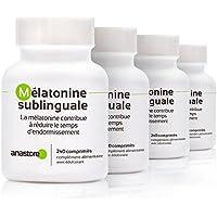 MELATONINA SUBLINGUAL OFERTA 3+1 GRATIS | Pureza garantizada superior al 99% | 1.8