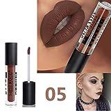 12 Couleurs Rouge à Lèvres Beauté Brillant Lip Gloss Mat Liquide Lipstick Matte Longue Tenue Gloss Pigment De Sable De Beauty Lip LEEDY