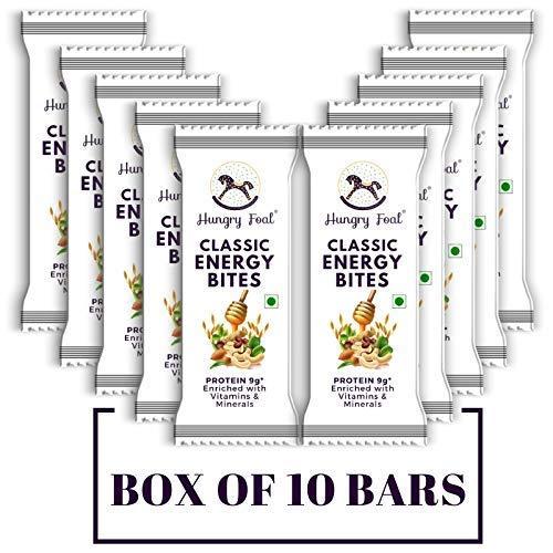 Hungry Foal Classic Energy Bites - (Box of 10 Bars)