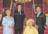 2000Reine eliazabeth la reine mère du 100e anniversaire commémorative timbre feuille miniature en parfait état démonté.