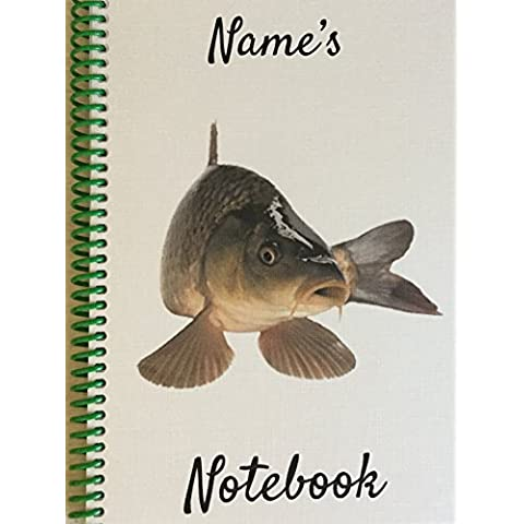 Pesce Carpa–Personalizzabile NOTEBOOK