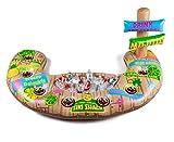 BigMouth Inc Tiki Aufblasbares Getränk Swim Up Bar