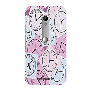 HomeSoGood Match The Time Multicolor 3D Mobile Case For Moto G 3rd Gen (Back Cover)