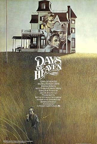 Days of Heaven Plakat Movie Poster (11 x 17 Inches - 28cm x 44cm) (1978) UK (Brooke Adams Weihnachten)