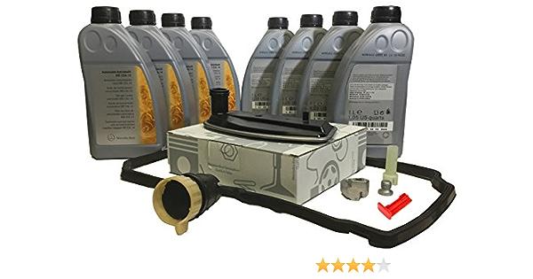 Komplett Wechsel Set Öl Flüssigkeit Für Original Automatikgetriebe Von Mercedes Benz Atf 134 8 L Mb236 14 A1402770095 Auto