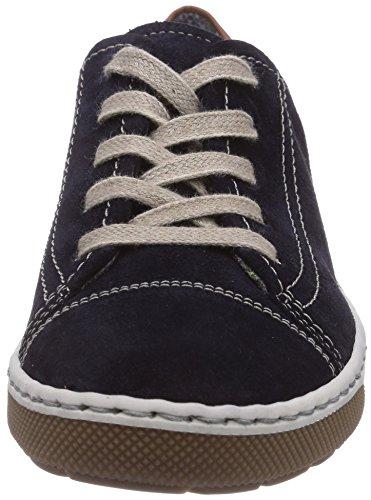 Jenny Dublin Damen Sneakers Blau (blau,marrone 05)