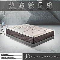 Colchón 90x190 muelles ensacados Memory Vex Spring de Altura 26cm, 7 cm de ViscoVex Grafeno