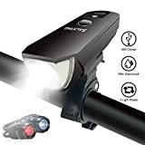 Best Bicycle Headlights - Bike light USB LED Mountain Bike Lights,Headlight Taillight Review