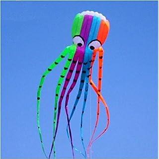 8M 3D Krake Kite | Einleiner | Drachen Geschenkidee Spielzeug für draußen