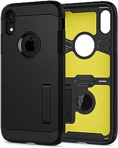 Spigen Tough Armor Case Compatible With Iphone Xr Black Elektronik