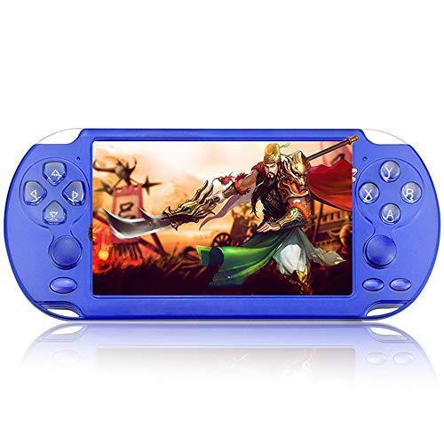 HONGSHAN 5.1 Lecteur de Console de Jeu Portable Portable Construit en 10000 Jeux vidéo rétro Classiques Effets sonores Surround 3D Jouez à des Jeux Écoutez de la Musique ou lisez