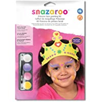 Snazaroo Face Paint kit with Role Play accessories, Princess - Girls