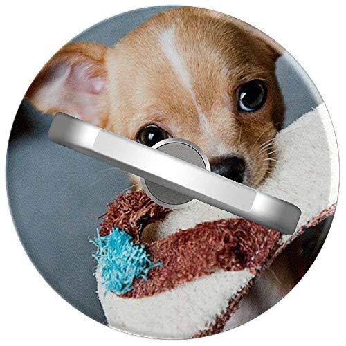 RAHJK Telefon Handy Ring Chihuahua Hund, 360 Grad drehbar Finger Ring Griff Handy Halter kompatibel mit Smartphones und Tablets 1U1896 -
