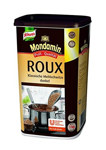 Mondamin Roux dunkel Klassische Mehlschwitze 1 kg, 1er Pack (1 x 1 kg)