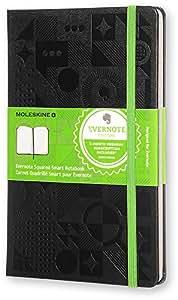 Moleskine Evernote Smart Notizbuch, schwarz