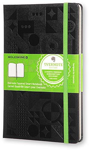 Moleskine Evernote Smart Notizbuch, schwarz (Moleskine Notebook-design)
