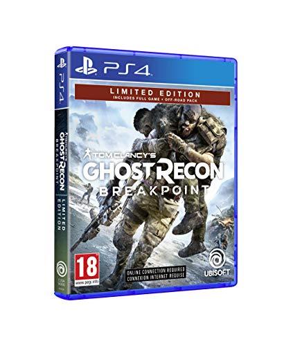 #Videojuego Ghost Recon Breakpoint (Edición Exclusiva Amazon) por 28,90€ ¡¡53% de descuento!!