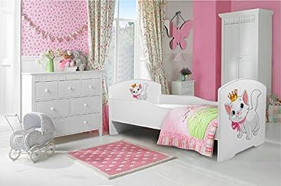 """La cama infantil """"gatito"""" cama para niños infantil el tamaño 160x80 con el colchón"""