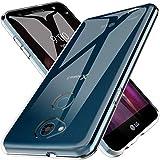 K&L LK Hülle Für LG X Power 3 Hülle, Ultra Schlank Dünn TPU Gel Gummi Weiche Haut Silikon Schutzhülle Abdeckung Case Cover für LG X Power 3 (Transparent)