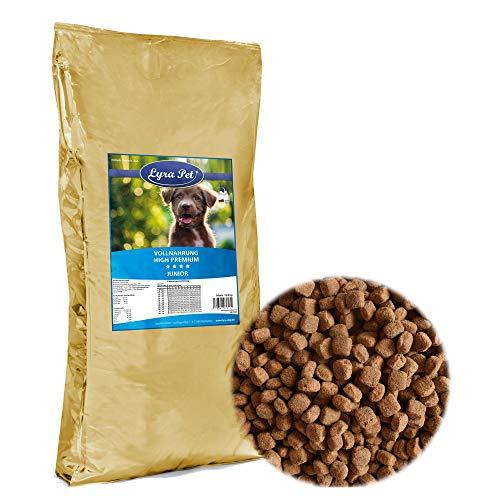 Lyra Pet Dog 12,5 kg Junior Premium Hundefutter für Junge Hunde Welpenfutter
