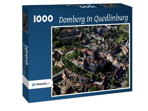 Domberg in Quedlinburg - Puzzle 1000 Teile mit Bild von oben