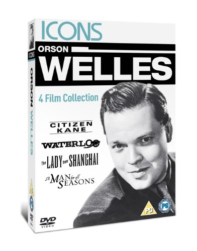 Orson Welles - Citizen Kane--Waterloo--The Lady From Shanghai--A Man For All Seasons [DVD]