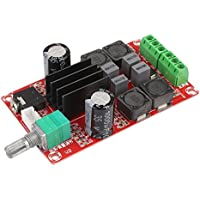 Anyutai Placa de amplificador digital, 1Pc TPA3116D2 2x50W DC24V Junta de amplificador de audio estéreo de doble canal