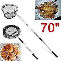 Generic OLDING de pesca CRO telescópica de malla plegable sacadera 177,8 cm extensible OLDING LIGH telescópica de pesca<1&938*1>