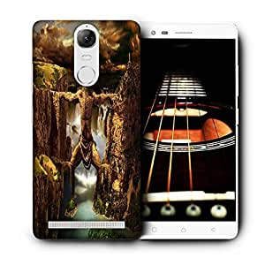 Snoogg Mountain Man Printed Protective Phone Back Case Cover For Lenovo K5 Note